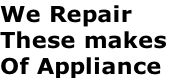 We Repair
